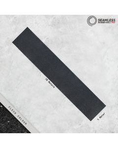Seamless Rubbber Roll PRO - Black with grey Fleck
